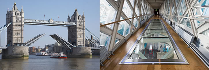 Tower Bridge Walkway and Exhibition